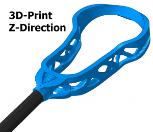 3Lacrosse Topology Optimization Z